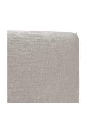 katoenen hoeslaken ledikant soft 60x120 cm Grijs