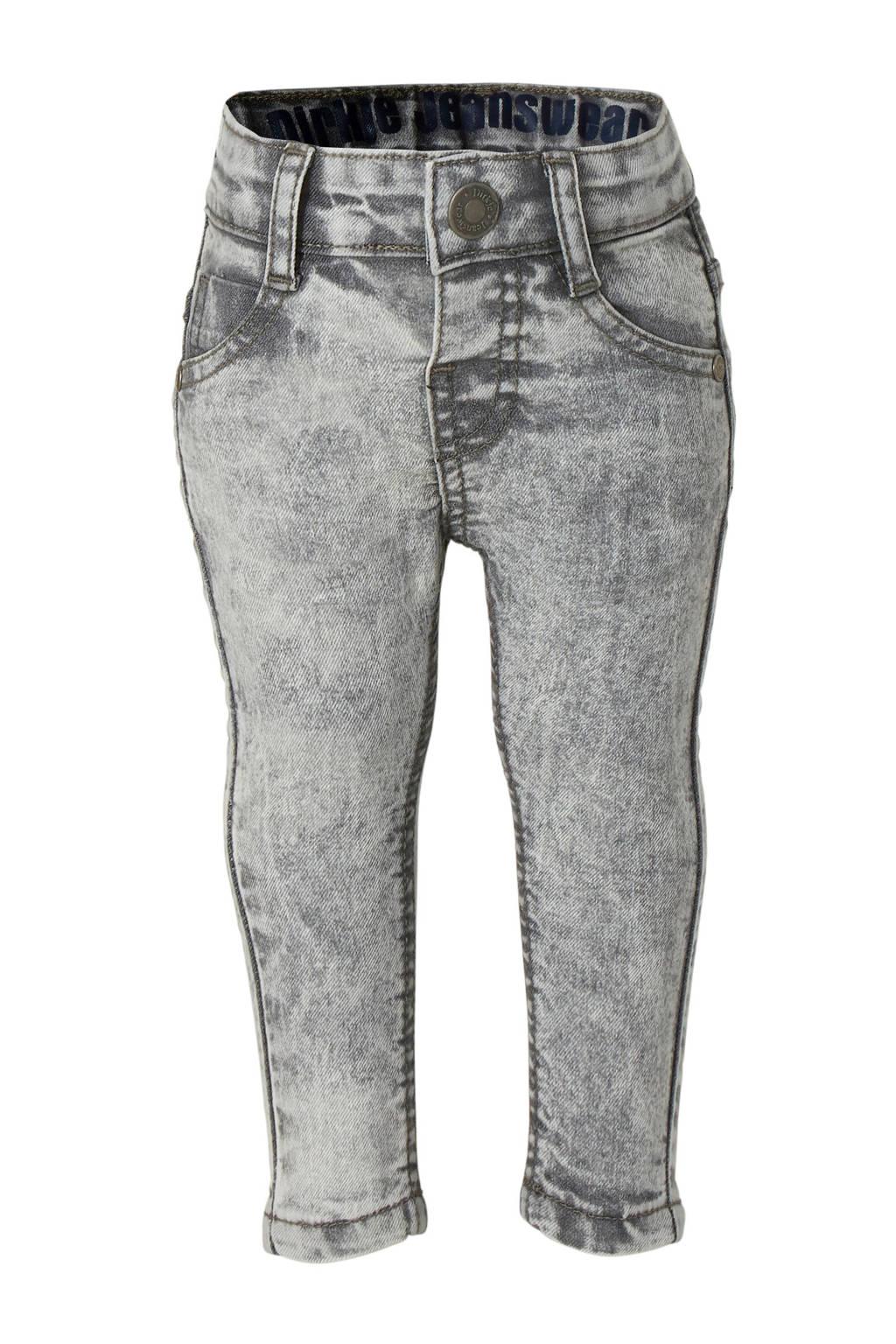 Dirkje slim fit jeans, Grijs