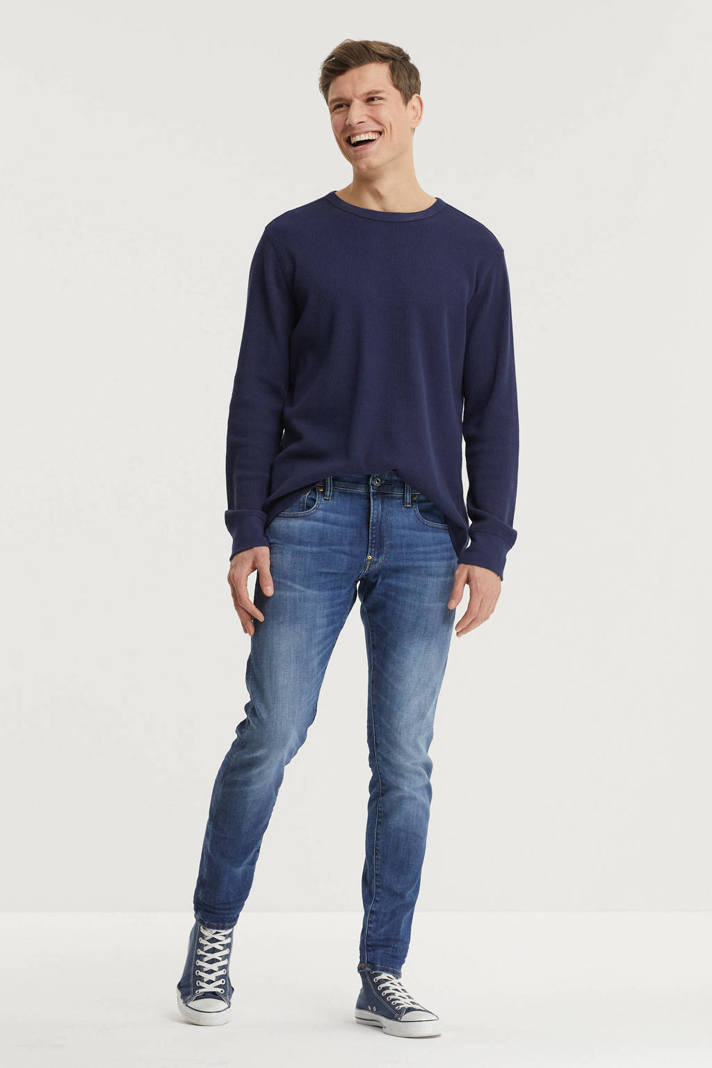 G-Star RAW Revend skinny fit jeans medium indigo aged, Medium indigo aged