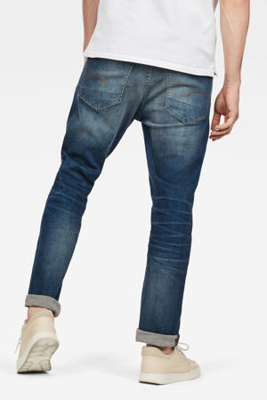 straight fit jeans 3301 worker blue faded