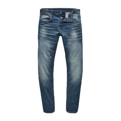 G-Star RAW straight fit jeans 3301 worker blue fad