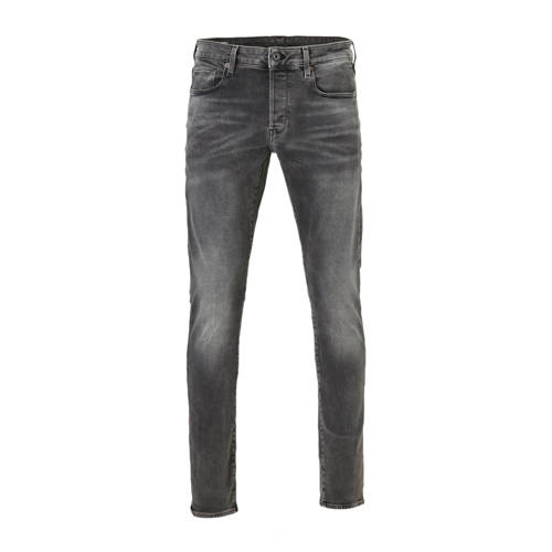 G-Star RAW slim fit jeans 3301 antic charcoal