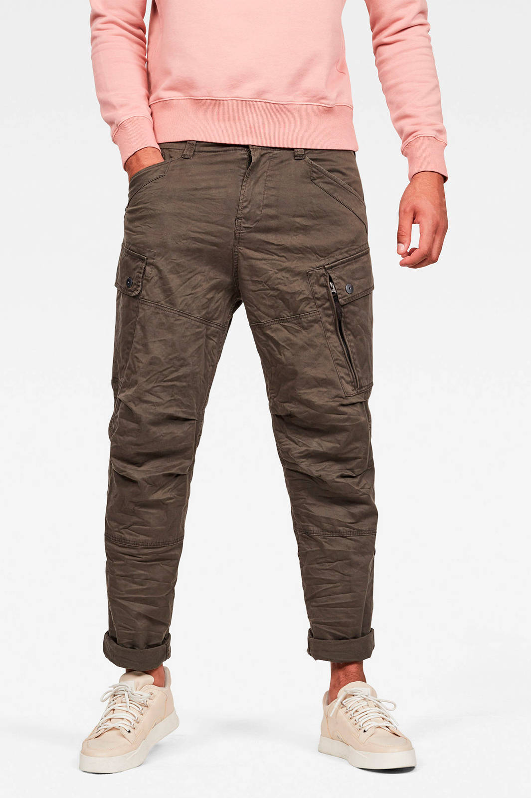 G Star RAW regular fit cargobroek groen Nieuwe mode, Fit