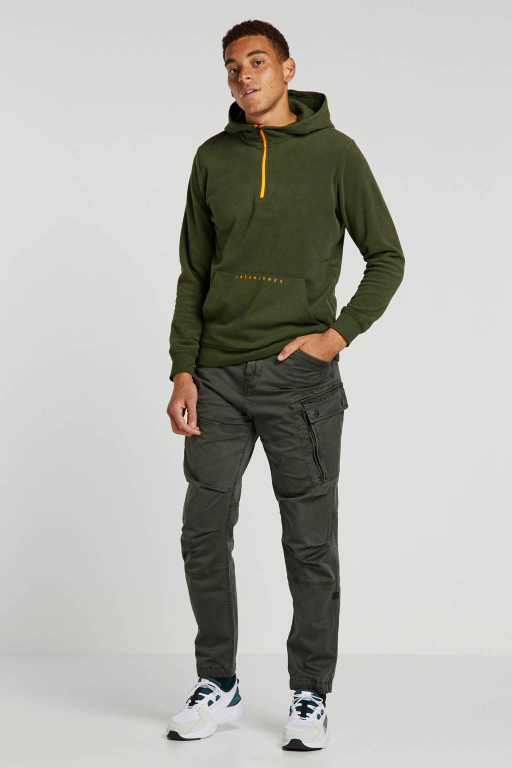 G-Star RAW regular fit cargobroek groen, Groen