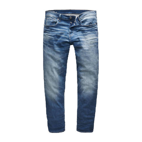 G-Star RAW regular fit jeans 3301 worker blue fade