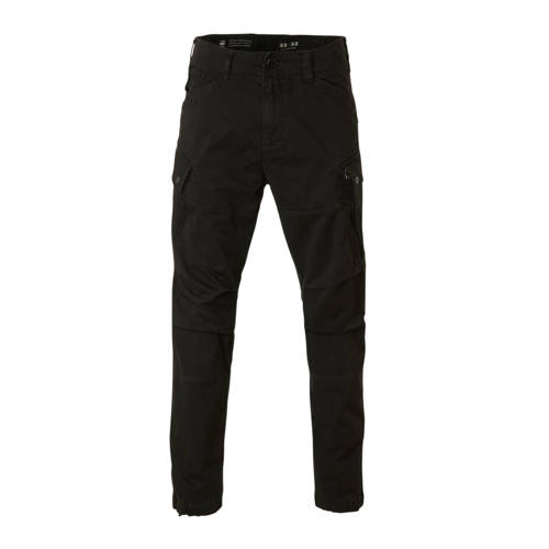 G-Star RAW tapered fit cargobroek zwart