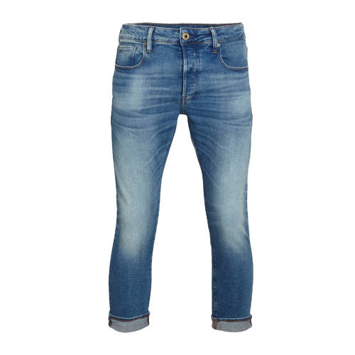 G-Star RAW slim fit jeans 3301 authentic faded blu