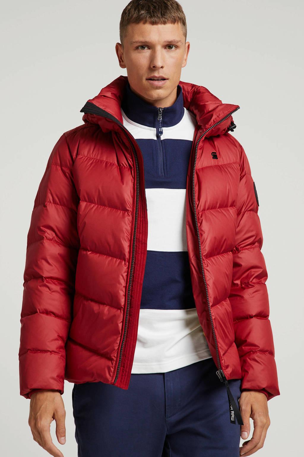 G-Star RAW winterjas rood, Rood