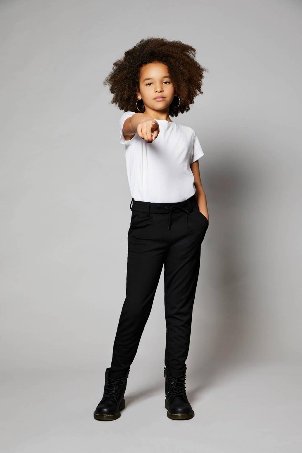 KIDS ONLY slim fit joggingbroek zwart, Zwart