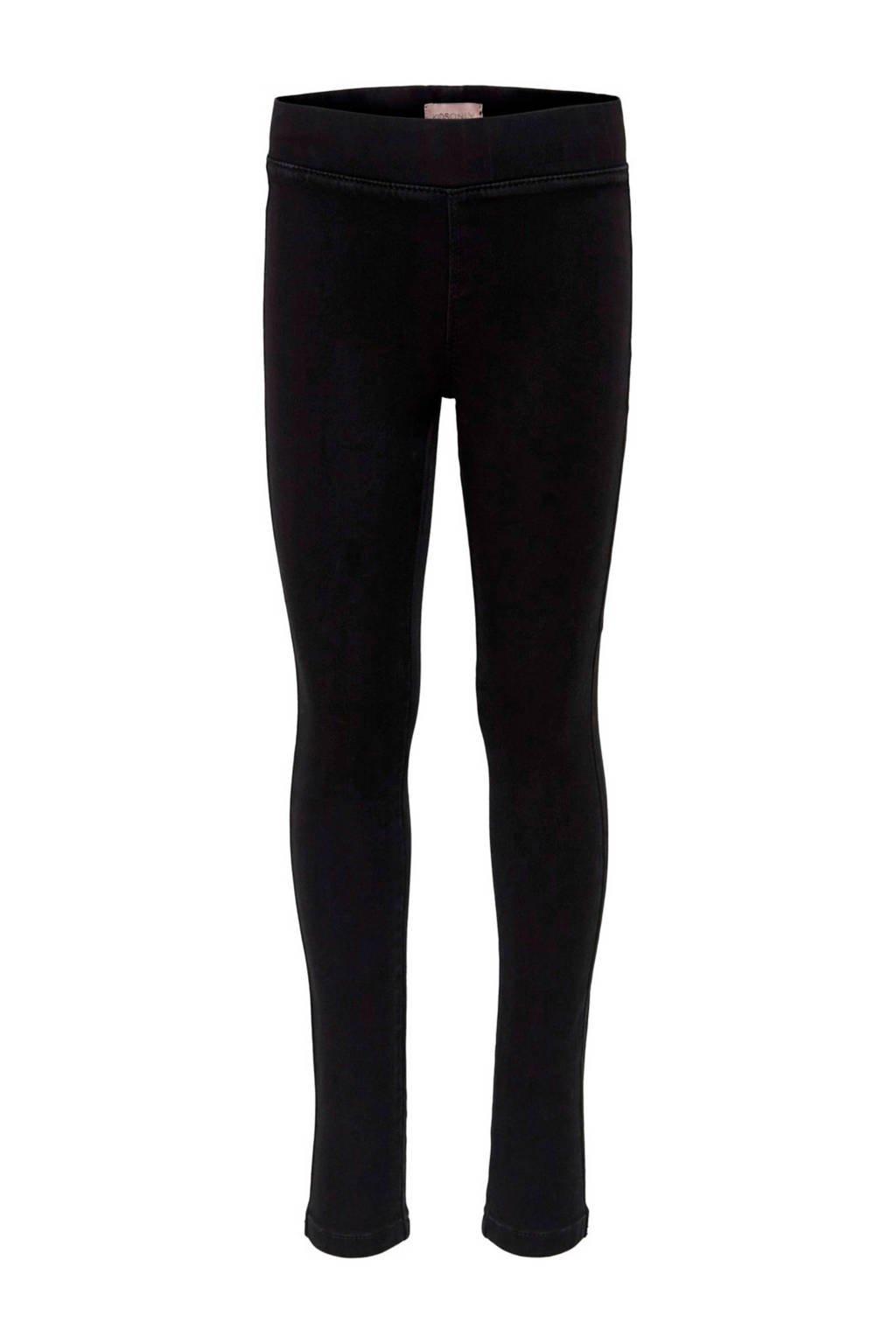 KIDS ONLY skinny jeans black denim, Black denim