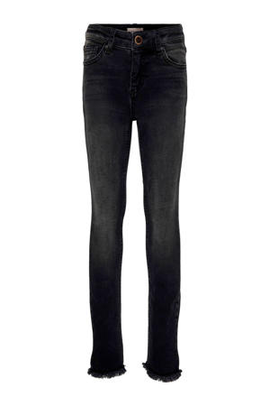 skinny jeans Blush met slijtage