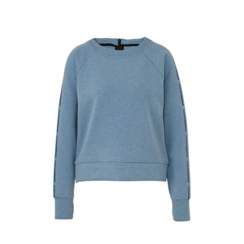 Superdry Sport sweater lichtblauw