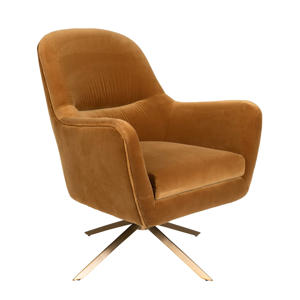 Robusto fauteuil velours