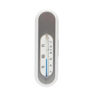 badthermometer zilver