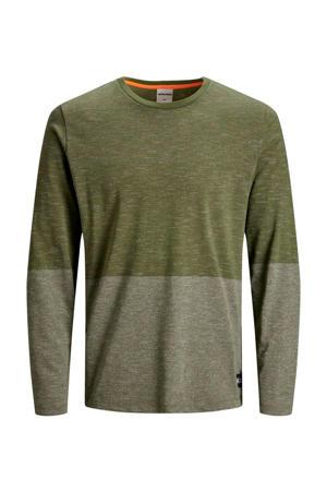 CORE gemêleerd T-shirt groen
