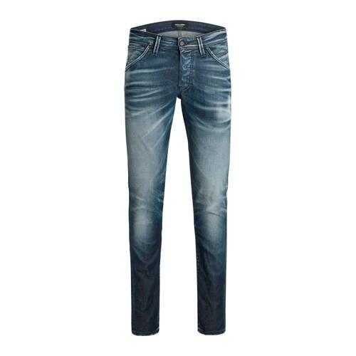 JACK & JONES slim fit jeans Glenn blue denim