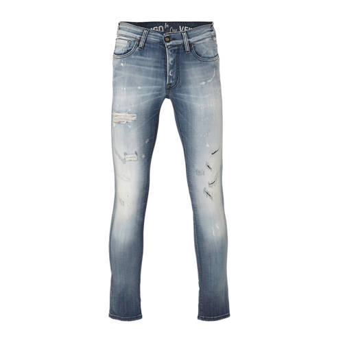 JACK & JONES slim fit jeans Glenn blue denim