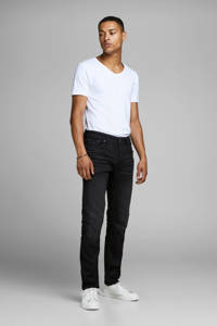 JACK & JONES regular fit jeans Mike black denim, Black denim