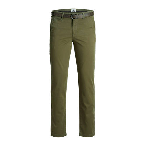 JACK & JONES JEANS INTELLIGENCE chino olijfgro