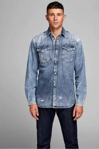 JACK & JONES JEANS INTELLIGENCE denim overhemd, Blauw