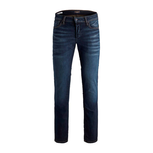 JACK & JONES JEANS INTELLIGENCE slim straight fit jeans Tim blue denim