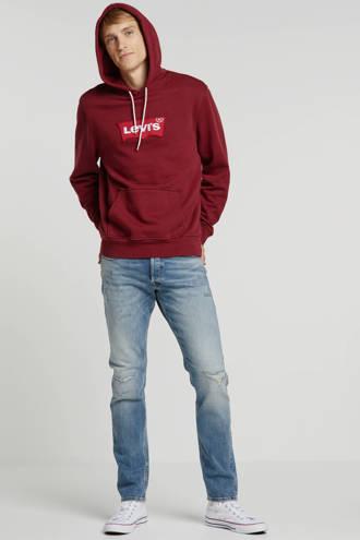 Jack & Jones Jeans Intelligence slim fit jeans Glenn met slijtage