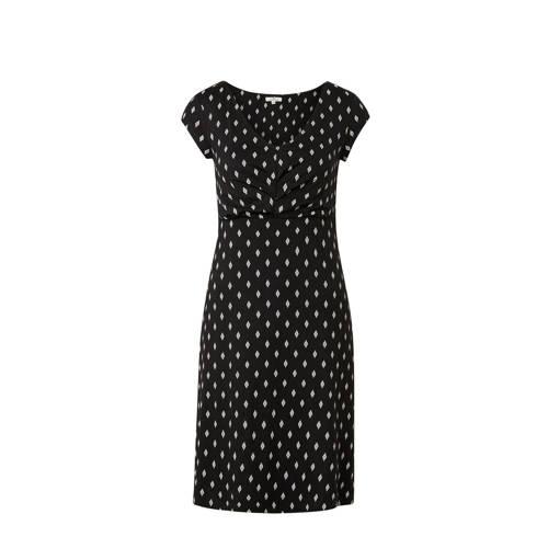 Tom Tailor jurk met all over print zwart
