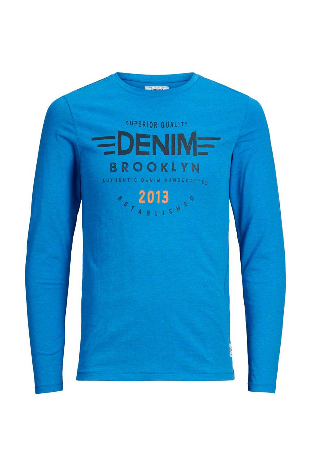 PRODUKT T-shirt met tekstopdruk, Blauw