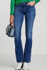 NOISY MAY flared jeans NMMARLI medium blue denim, Blauw