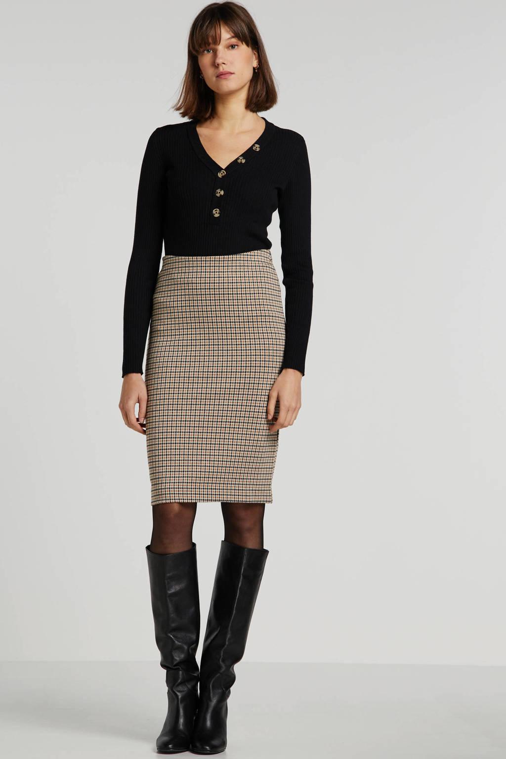 VILA trui zwart, Zwart