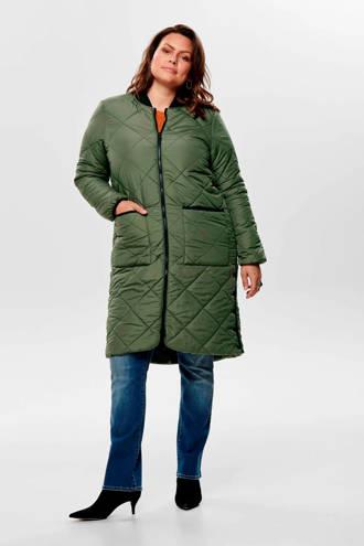 winterjas groen
