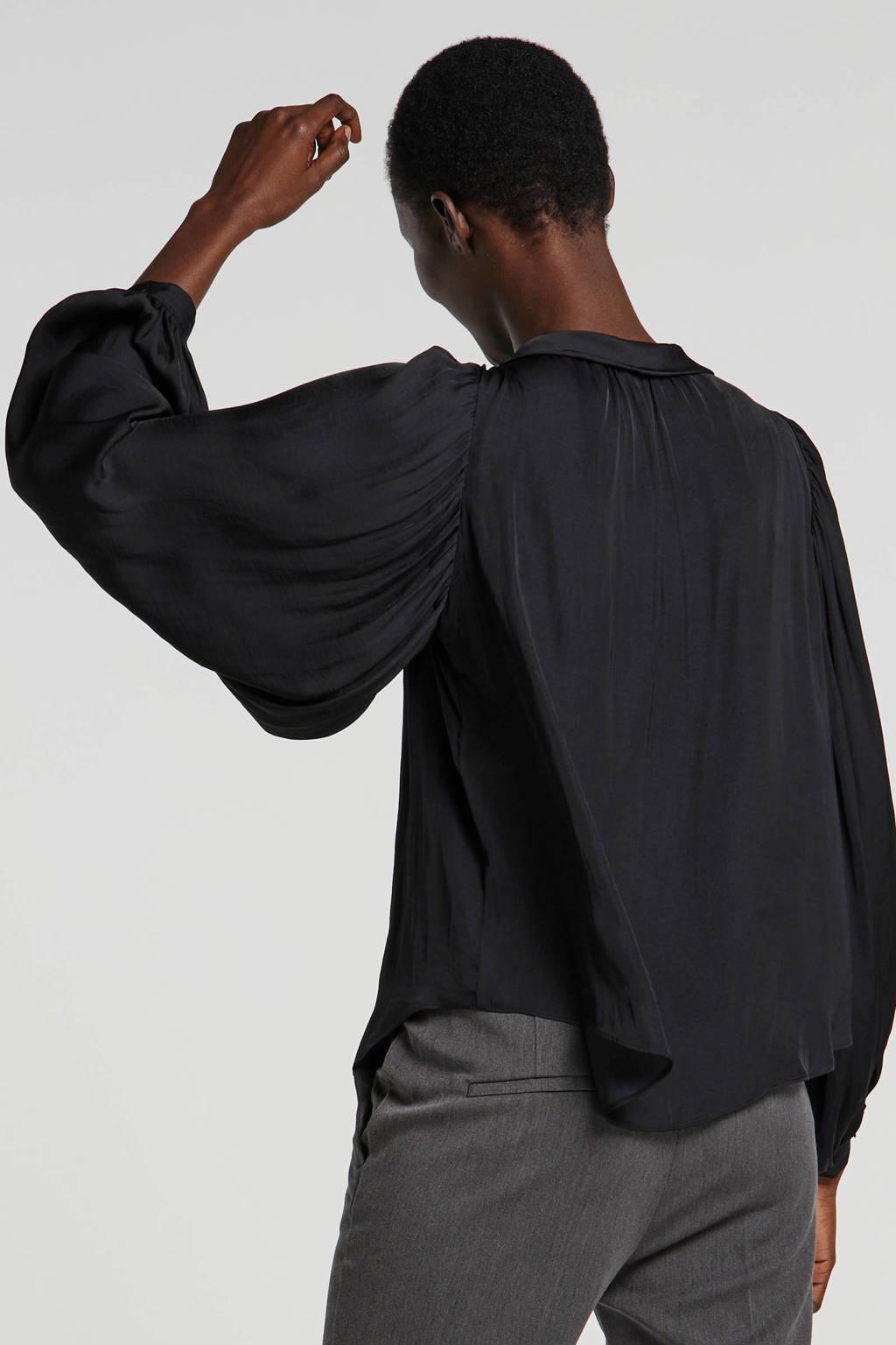 Soaked In Luxury top zwart, Zwart