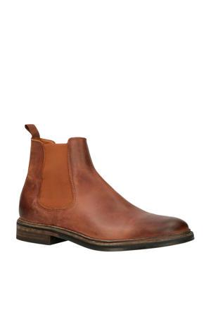 Chet Gylmar Siena leren chelsea boots cognac