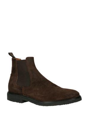 Chet suède chelsea boots bruin