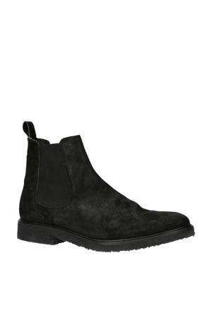 Chet suède chelsea boots zwart