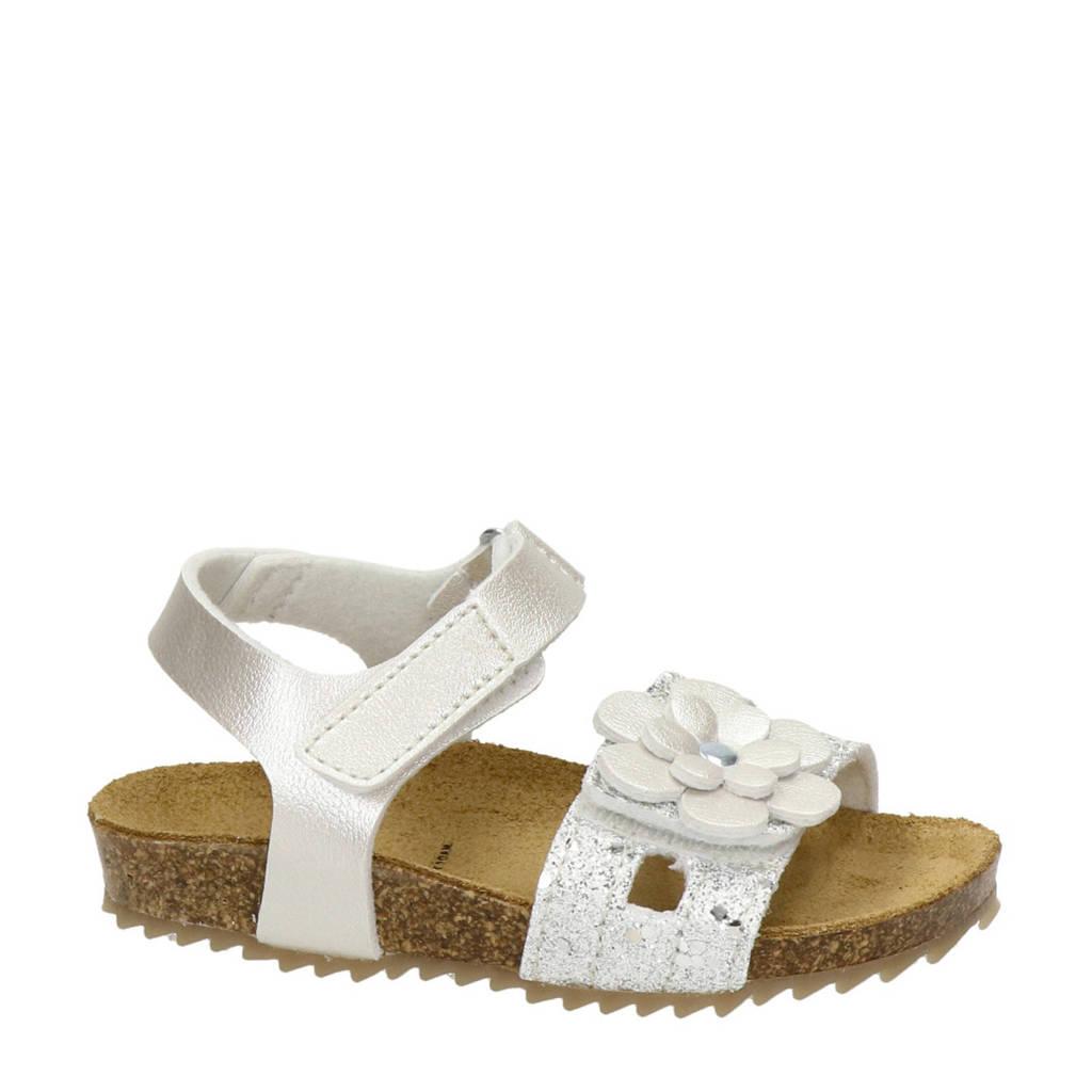Nelson Kids   sandalen wit, Wit/zilver