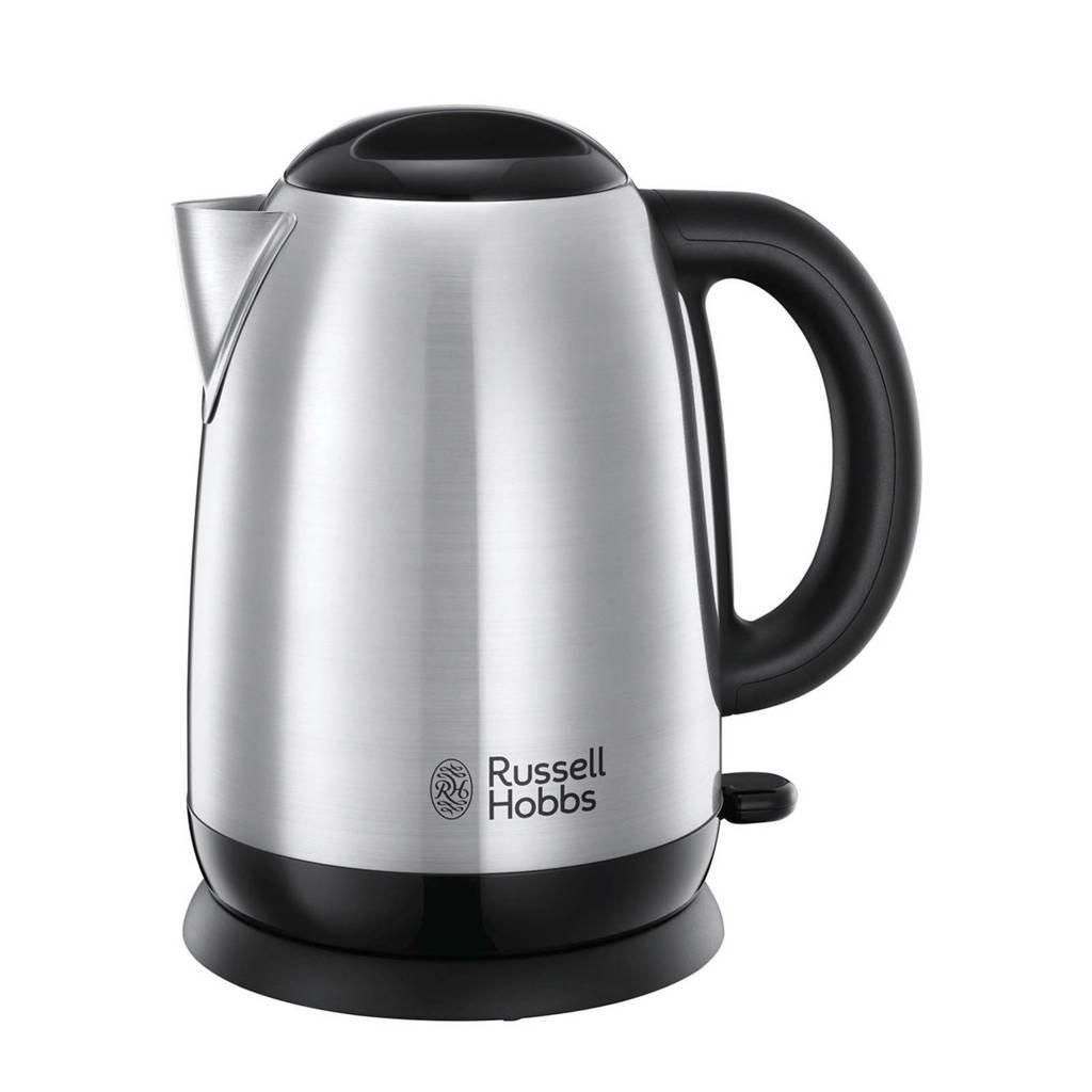 Russell Hobbs 23912-70 ADVENTURE waterkoker, Zwart, zilver