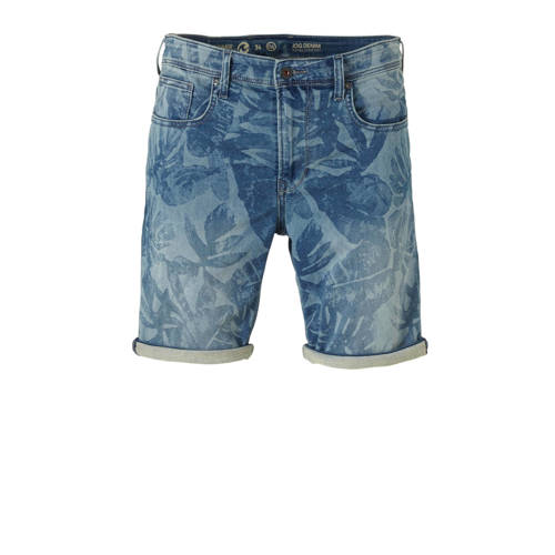 C&A Angelo Litrico regular fit jeans short met all over print