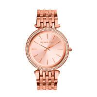 Michael Kors horloge MK3192 roségoud, rosegoudkleurig