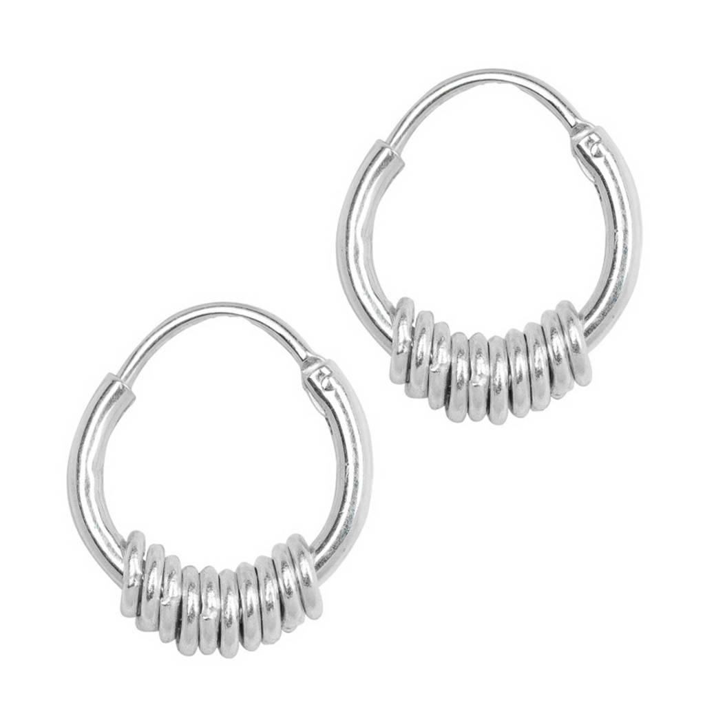ANNA + NINA oorbellen 011614S0000 zilver, Zilverkleurig