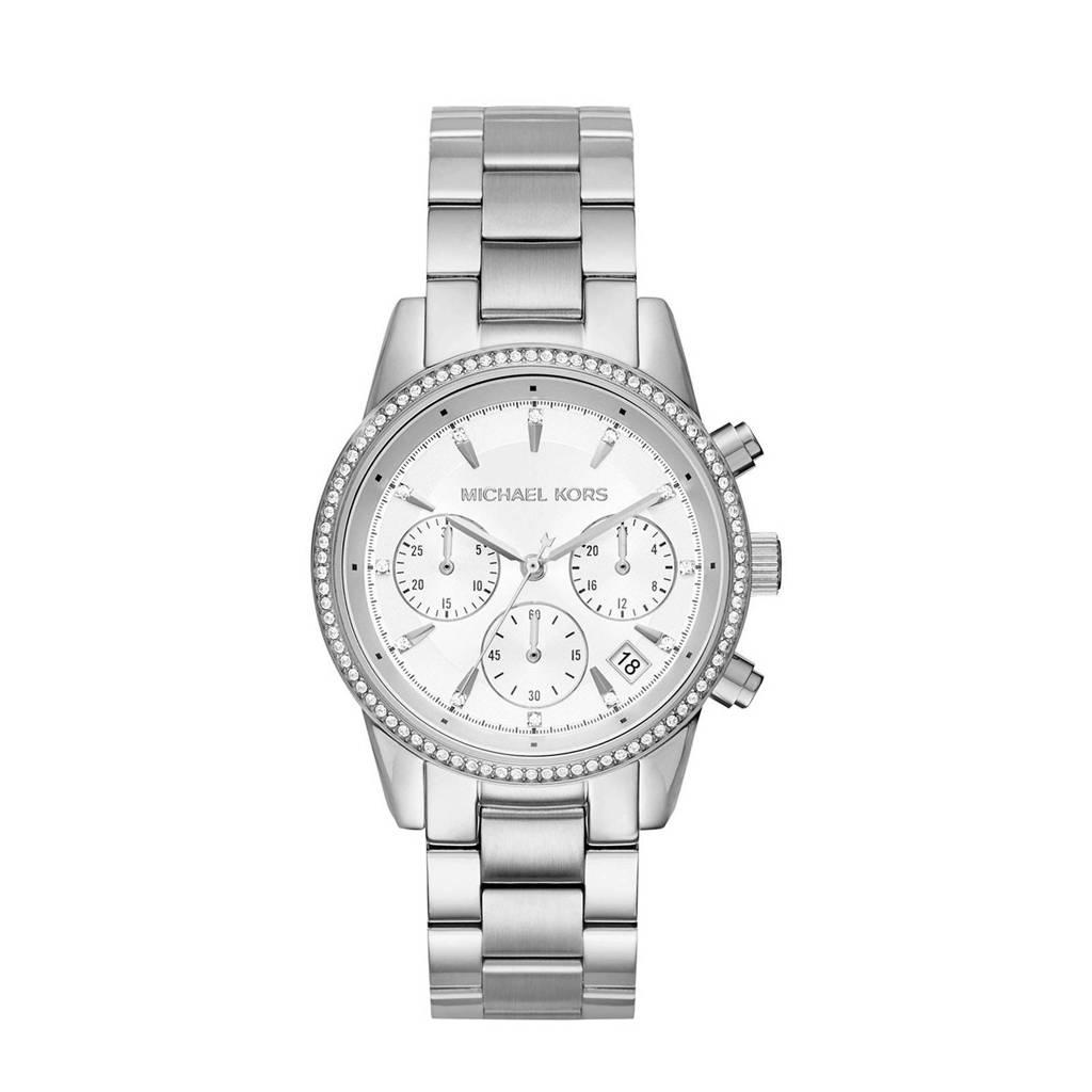 Michael Kors horloge MK6428, Zilverkleurig
