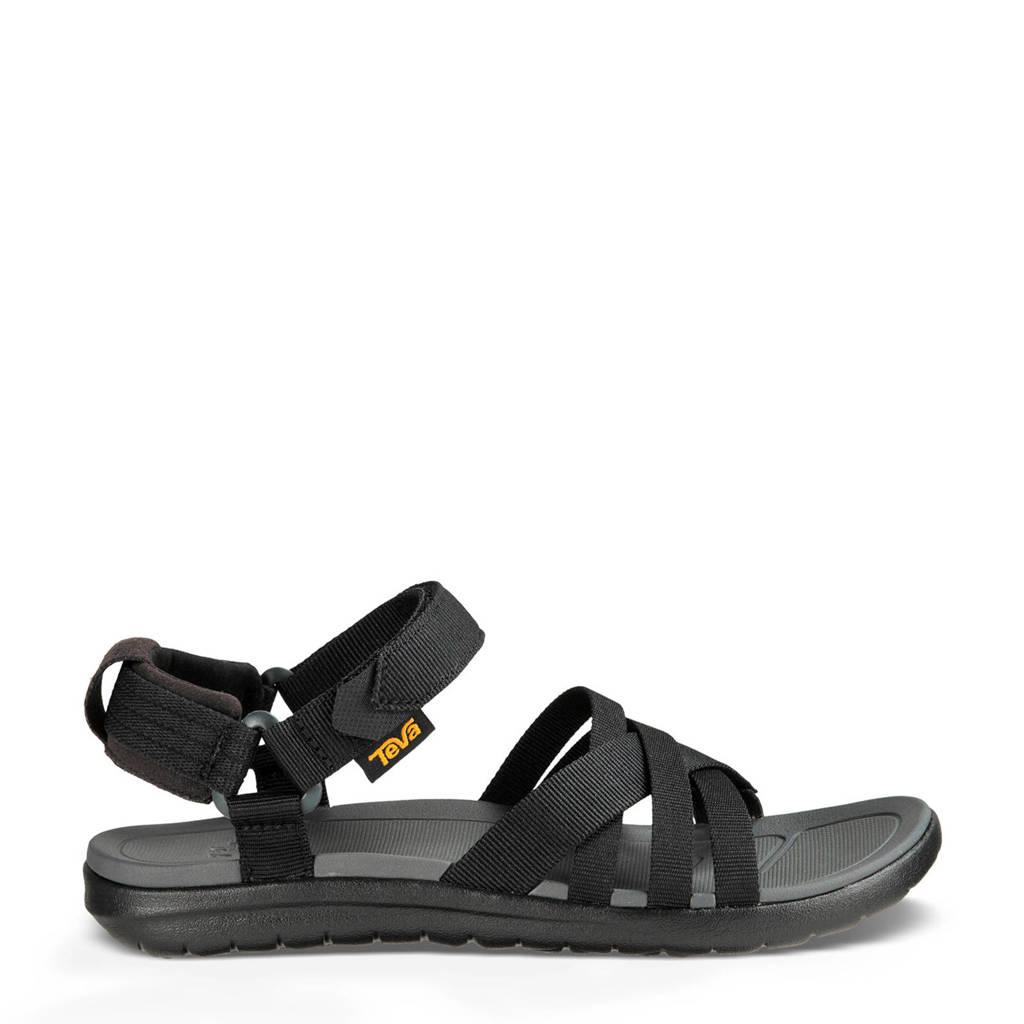 Teva Sanborn outdoor sandalen zwart, Zwart