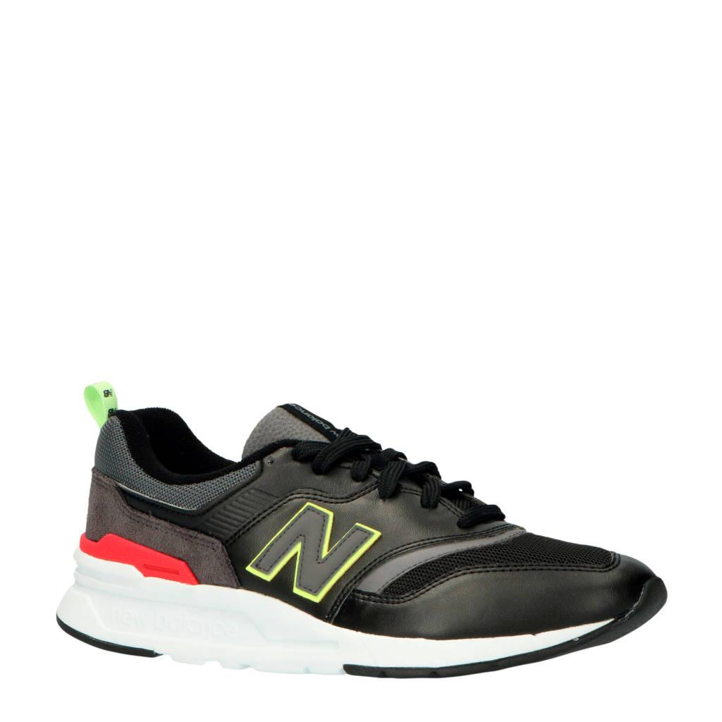 New Balance 997  sneakers zwart, Zwart/antraciet