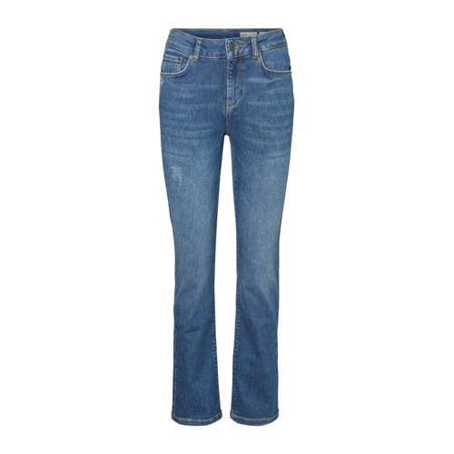 VERO MODA bootcut jeans donkerblauw