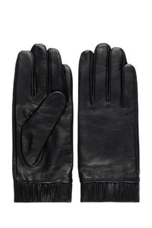 leren handschoenen Marie zwart