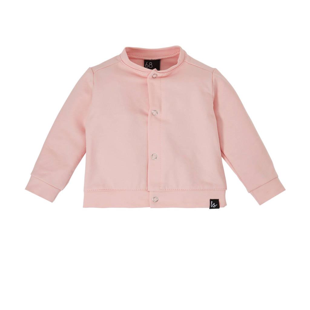 Babystyling baby vest met biologisch katoen roze, Roze
