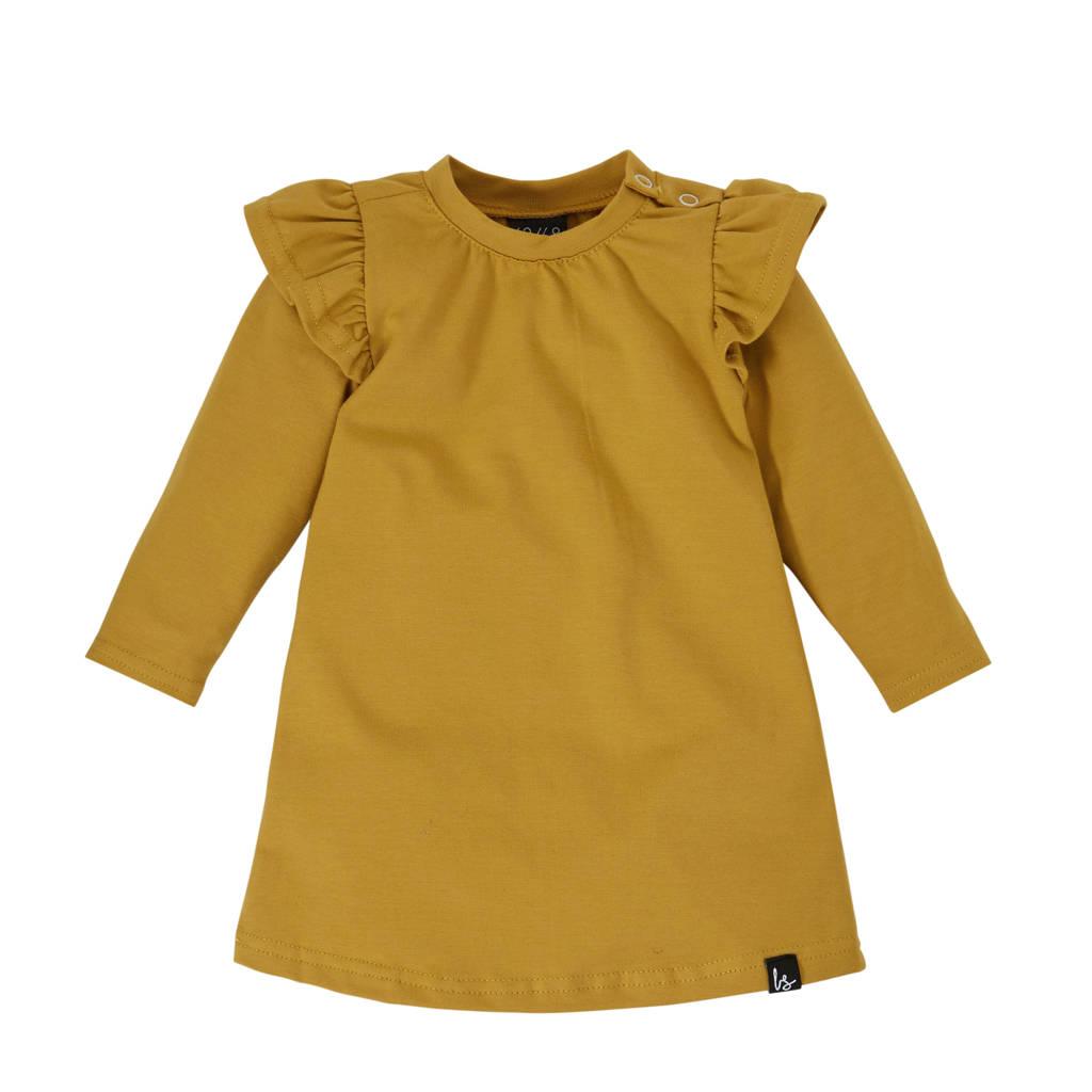 Babystyling jurk okergeel, Okergeel