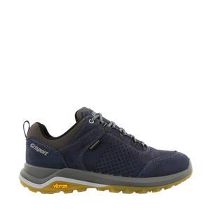 Bozen Low nubuck wandelschoenen blauw