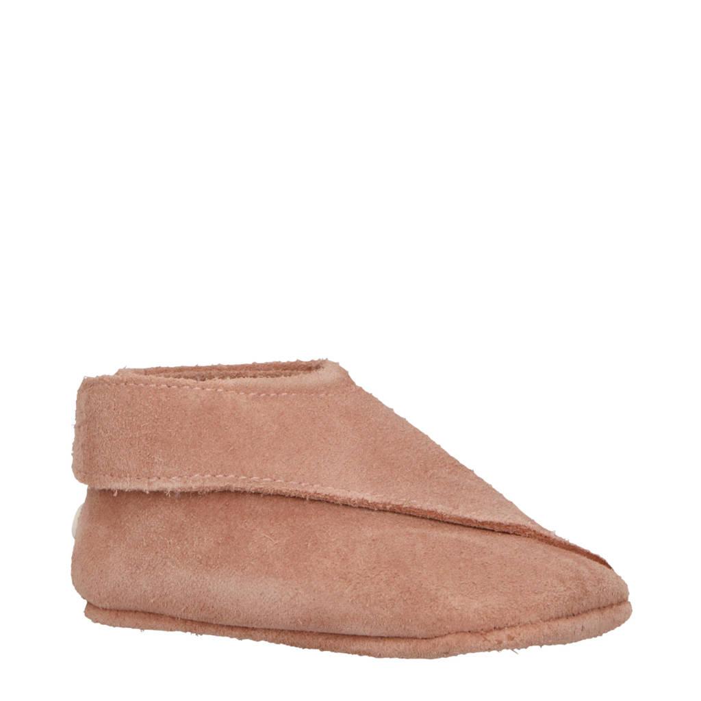 Lodger Walker Loafer leren babyschoentjes roze, Roze