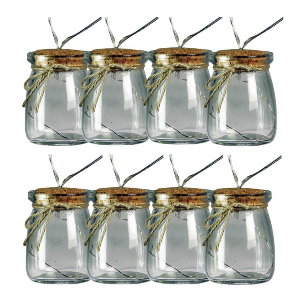 Luxform solar festive stringlight Tormelinos, Transparant